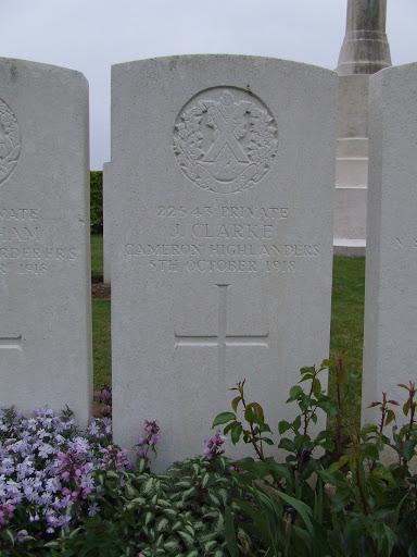 John Clark (Clarke) grave