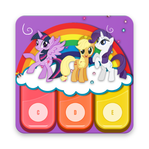 My Little Pony Piano and Drum