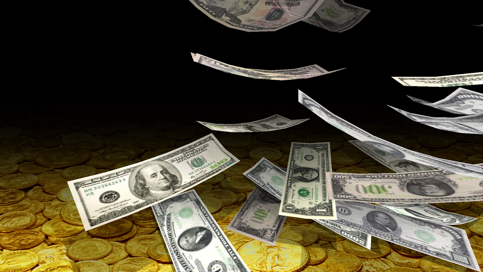 What Is Falling Action Of The Yellow Wallpaper Falling Money 3d Live Wallpaper Android Apps On Google Play