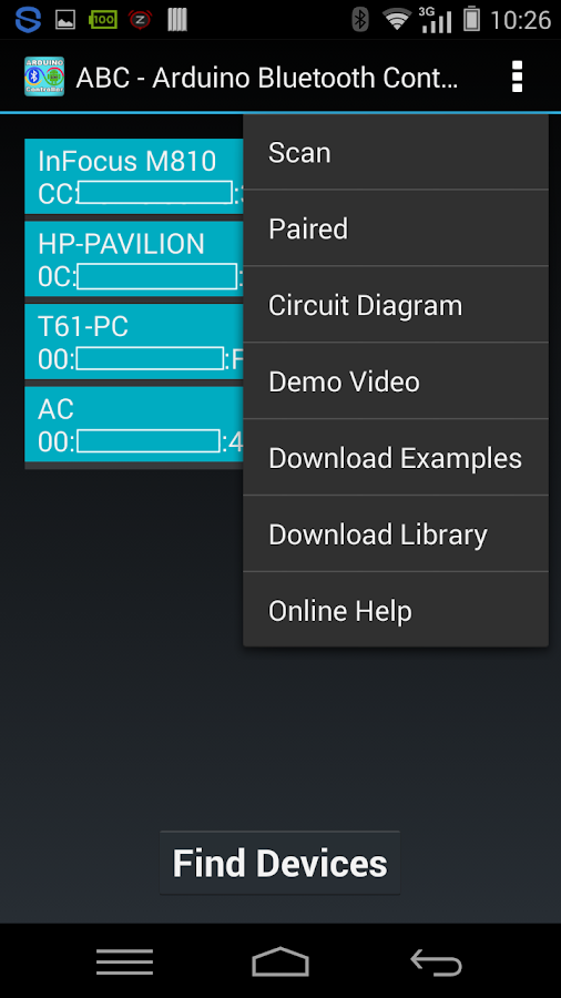 Arduino bluetooth controller android apps on google play