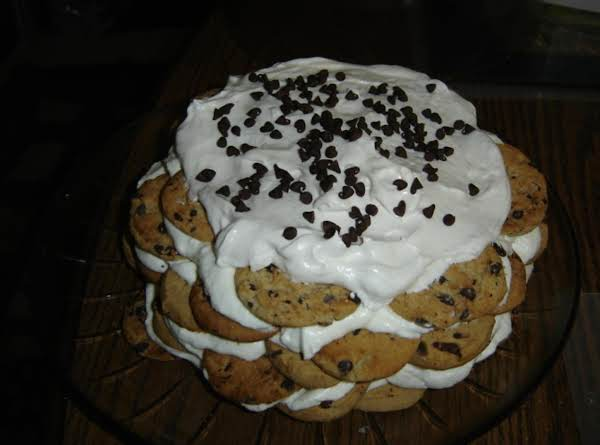 Choc-chip Cookie Icebox Cake Recipe