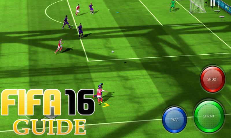 android Leitfaden FIFA 16 GamePlay Screenshot 0