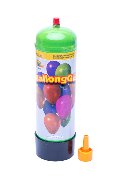 Helium, 10 ballonger