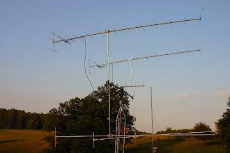 Photo: 4X15 EME Antenna at WB9OTX