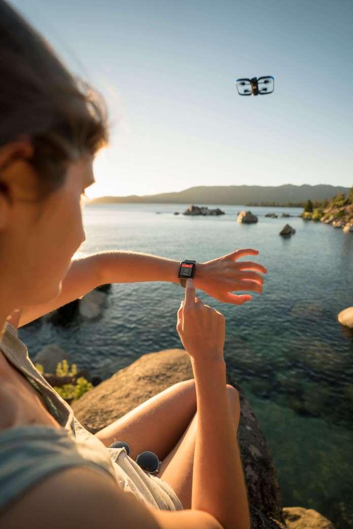 Skydio smart watch control