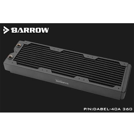 Barrow Dabel-A radiator, 360, 3x120-40