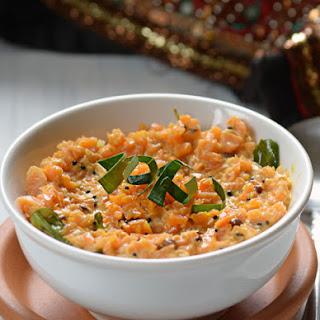 Carrot Pachadi – Carrot yogurt Salad – Kerala Style