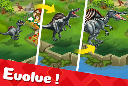 DINO WORLD - Jurassic dinosaur game 11.79 screenshots 9