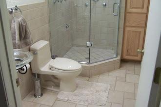 Photo: tiled bathroom