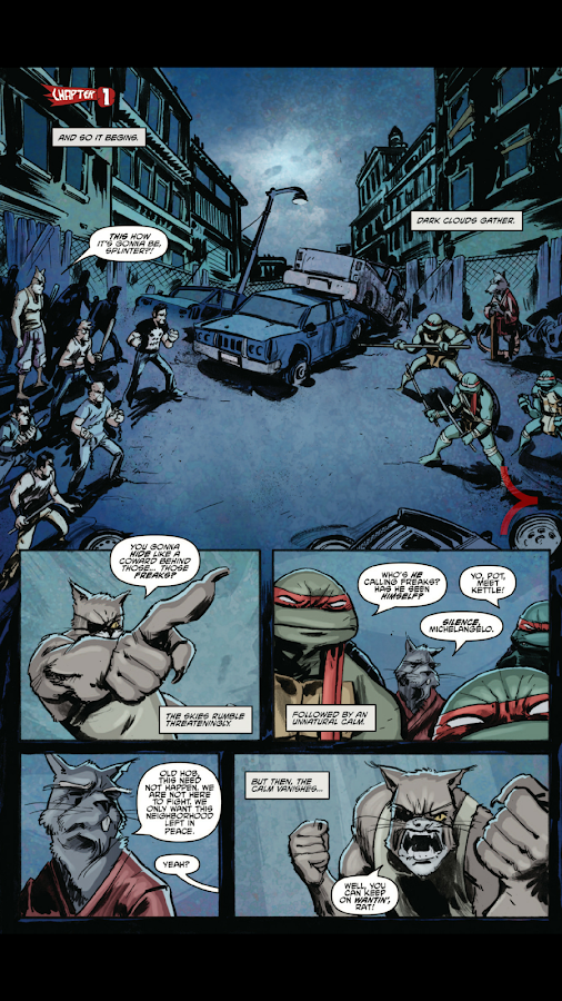 TMNT Comics- screenshot