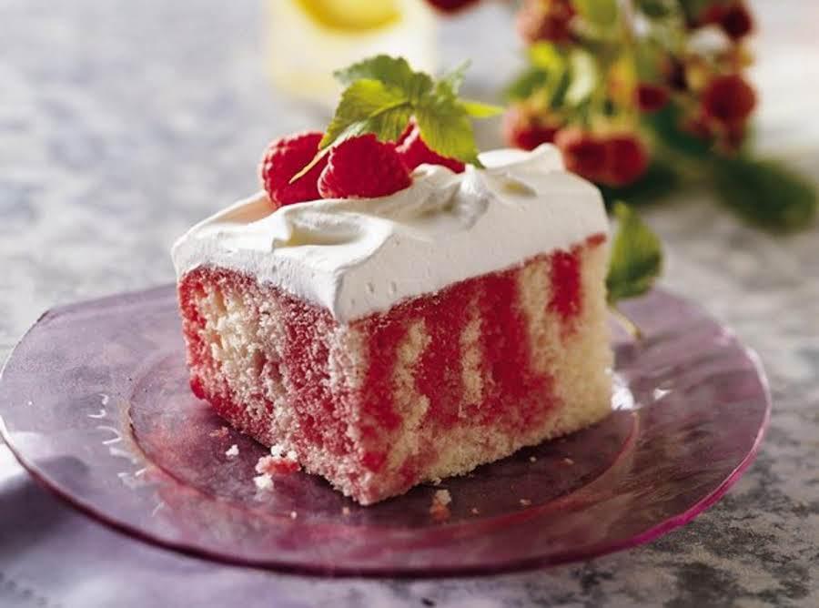 Raspberry Poke Cake Recipe Just A Pinch Recipes