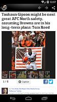Screenshot of Cleveland Football News