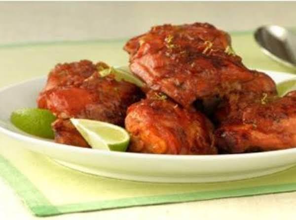 Honey-lime Glazed Chicken Thighs