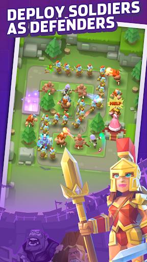Royal defense Idle apkdebit screenshots 1