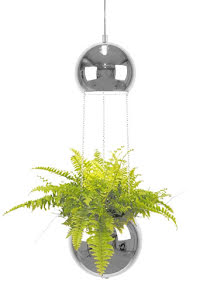 Globen Lighting Planter Ampellampa Krom - lavanille.com
