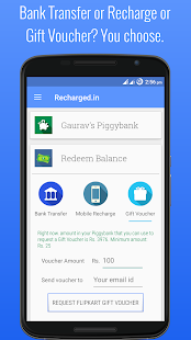 Recharged: Shop, Earn Cashback- screenshot thumbnail