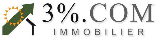 Logo de 3%.COM