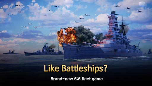 Code Triche Warship Fleet Command : WW2 Naval War Game mod apk screenshots 1