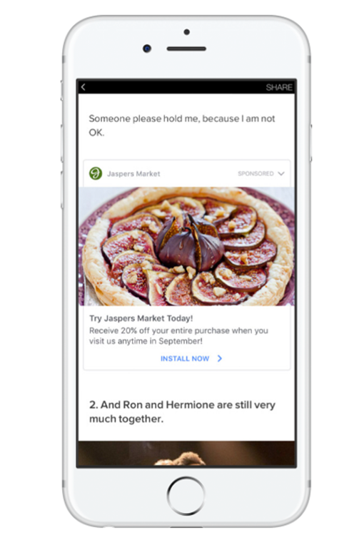 Facebook Ad Size Instant Article
