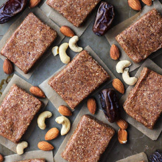 4-Ingredient Homemade Protein Bars [ Whole30 ].