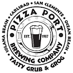 Logo of Pizza Port Carlsbad There Here