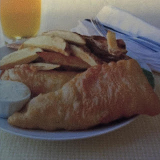 Super Crispy Fish and Chips.
