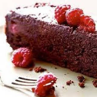 Raspberry and Xocai Chocolate Cake.