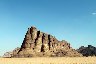 Photo: kolumny madrosci ..Wadi Rum