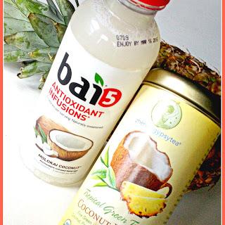 Iced Coconut Green Tea.