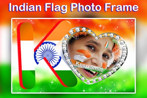 Indian Flag Text Photo Frame screenshot 9
