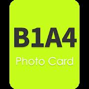 PhotoCard for B1A4