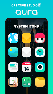 Aura Icon Pack – Rounded Square Icons Patched APK 1