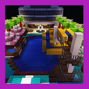 New Luxurious Ship. Map for MCPE