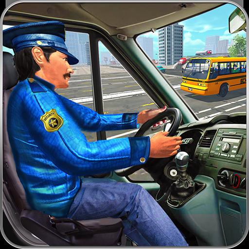 High School Bus Driving 2017: Fun Bus Games