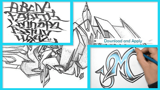 How to Draw Graffiti 3D - náhled