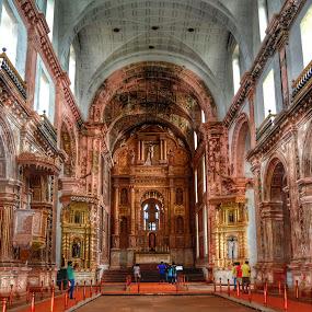 church goa india by Vikas Jorwal - Buildings & Architecture Places of Worship ( church, goa, india, worship, heritage )