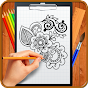 Learn How to Draw Henna Tattoo Designs icon