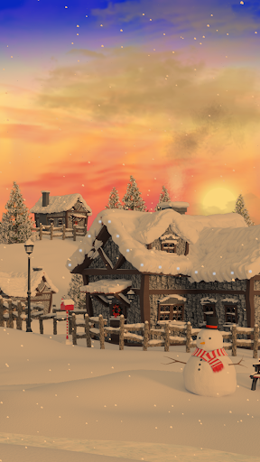 Christmas Village Live Wallpaper screenshot 5