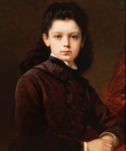 Segoura Fine Art - Nathaniel Sichel - Portrait d'une Jeune Fille