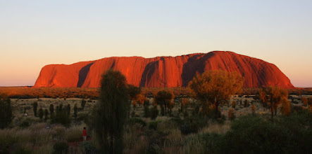 Photo: Year 2 Day 219 - Uluru at 6.50am