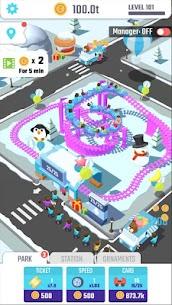 Idle Roller Coaster MOD APK (Unlimited Money) 5