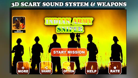 Indická armáda Sniper - náhled