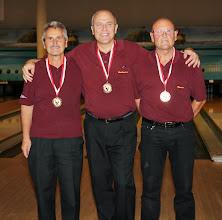 Photo: Senioren-Doppel 3. Platz – BC Ansfelden