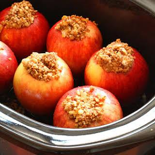 Crock-Pot Baked Apples.