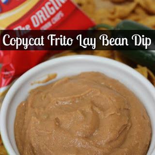Copycat Frito Lay Bean Dip