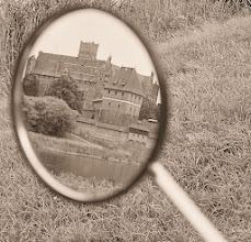 """Photo: """" Zamek w Malborku - w rowerowym lusterku """" - Edyta"""