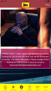 FRESHRADIO2550 - náhled