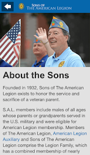 Sons of The American Legion- screenshot thumbnail