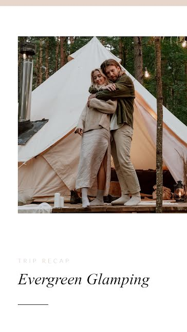 Perfect Glamping - Facebook Story template