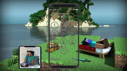 Lock Screen for Minecraft Fans 1.5 screenshots 4